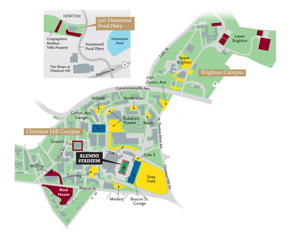Hover over each parking lot for information on donation levels and  tailgating