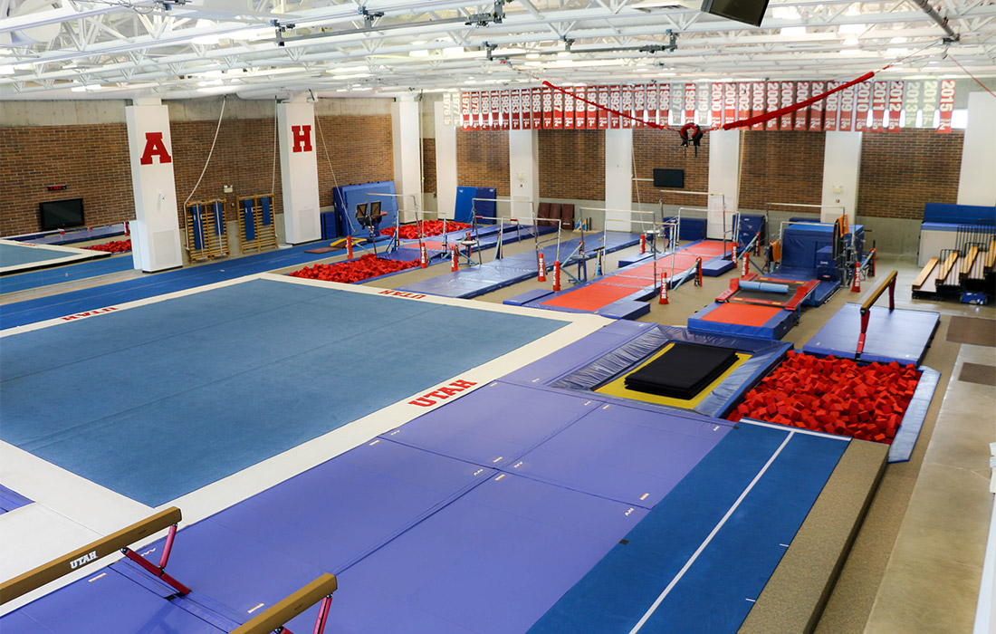 Utah Athletics | Dumke Gymnastics Center